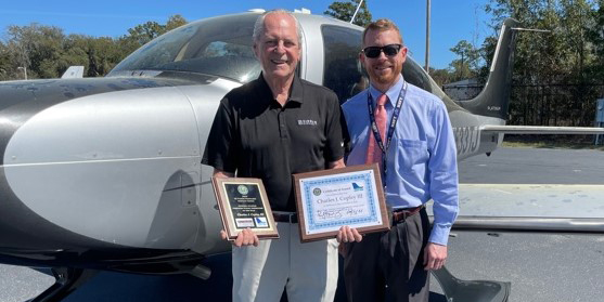 Hilton Head Island Airport Flight Instructor and Wright Brothers Master Pilot Award Recipient Named District Honoree for 2020 General Aviation Flight Instructor of the Year